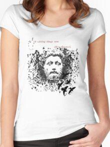 Marcus Aurelius Women's Fitted Scoop T-Shirt