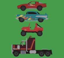 The Car's The Star: M.A.S.K. T-Shirt