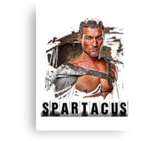 Spartacus - Blood and Sand - Andy Whitfield Canvas Print