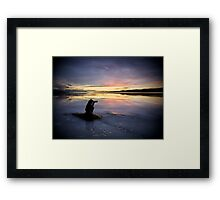 The Seeker of Light Framed Print