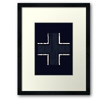 Luftwaffe Gothic Cross Framed Print