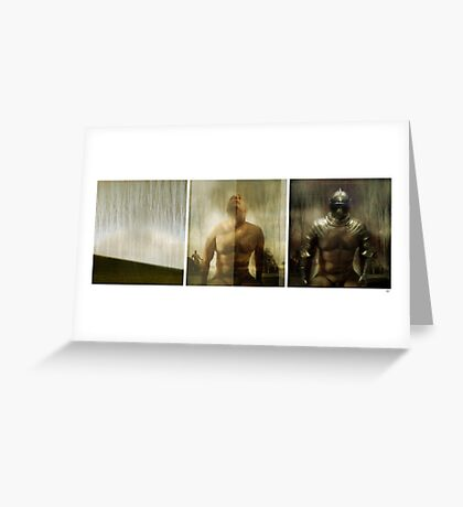 Armour maketh the man Greeting Card