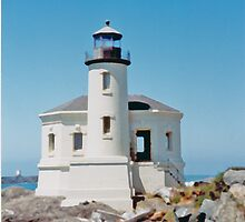 Coquille River Lighthouse, Coquille, Oregon by Marylamb
