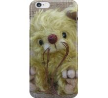 Ragamuffin Mouse. Handmade bears from Teddy Bear Orphans iPhone Case/Skin