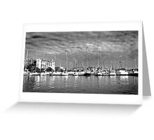 Rushcutter's Bay Panorama, Sydney Greeting Card