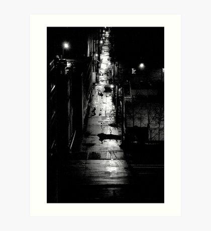 STREET SMART (LONG WAY HOME) Art Print