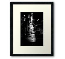 STREET SMART (LONG WAY HOME) Framed Print