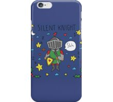 Silent Knight iPhone Case/Skin