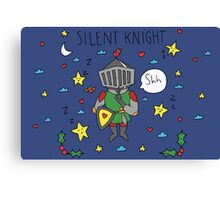 Silent Knight Canvas Print