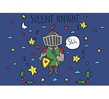 Silent Knight Photographic Print