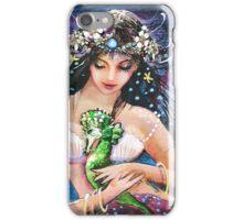 The Emerald Seahorse iPhone Case/Skin