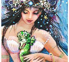 The Emerald Seahorse by Robin Pushe'e
