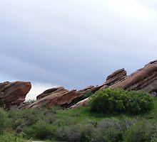 Red Rocks of Colorado by Poppy Bagdon