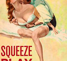 Pulp Sex Cover - Reprint of Vintage Pulp Sexy book  - by verypeculiar