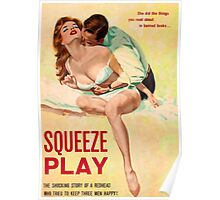 Pulp Sex Cover - Reprint of Vintage Pulp Sexy book  - Poster