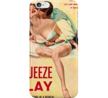 Pulp Sex Cover - Reprint of Vintage Pulp Sexy book  - iPhone Case/Skin