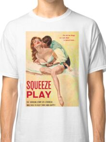 Pulp Sex Cover - Reprint of Vintage Pulp Sexy book  - Classic T-Shirt