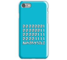 The Flight of the Conchords - Binary Solo - Robots iPhone Case/Skin