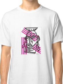 Life Lines  -  Face,  No.2 Classic T-Shirt