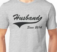 Husband Since 2014 Unisex T-Shirt