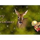 Merry Christmas Deer by jkartlife