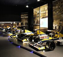 Williams F1 1980s & 1990s by hedgeryhoops