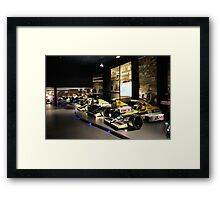 Williams F1 1980s & 1990s Framed Print