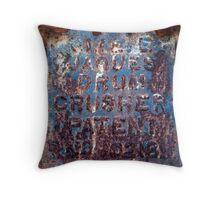 Jaques' Crusher Throw Pillow