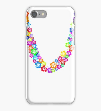 Flower Lei iPhone Case/Skin