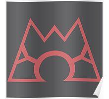 Team Magma Emblem Poster