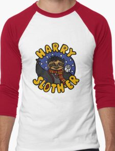 Harry Sloth-er Men's Baseball ¾ T-Shirt