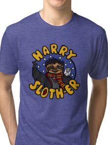 Harry Sloth-er Tri-blend T-Shirt