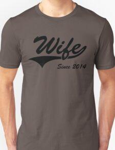 Wife Since 2014 T-Shirt