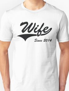 Wife Since 2014 T-Shirt