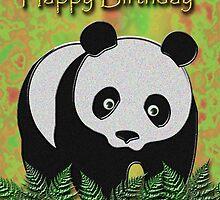 Happy Birthday Panda Bear by jkartlife