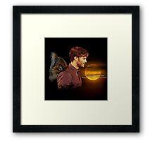 Sheriff Graham - May you Always Run Free Framed Print