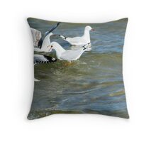Get lost !  She's mine  Throw Pillow