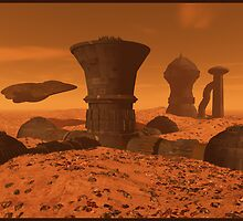 "Mars Colony 1 ""After the Storm"" by Maylock"