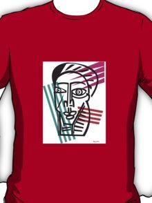 Life Lines  -  Face,  No.5 T-Shirt