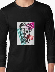 Life Lines  -  Face,  No.5 Long Sleeve T-Shirt