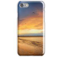 Stormy sunset Hervey Bay iPhone Case/Skin