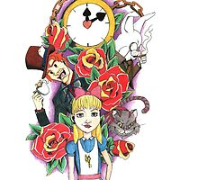 Alice in Wonderland by ColeC