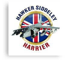 Hawker Siddeley Harrier Canvas Print
