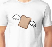Flying Toast Unisex T-Shirt