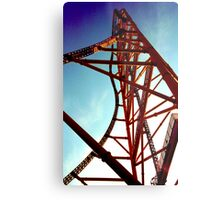 Top Thrill Dragster Metal Print