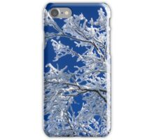 Snow on the Treetops iPhone Case/Skin