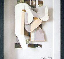 Self: Paper Bust, 2006 by Annie van Limbeek