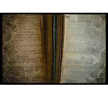2 Books painted Photographic Print