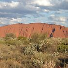 Ayers rock sunset by John Witte