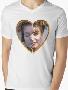 Twin Peaks - Laura [Heart] Mens V-Neck T-Shirt